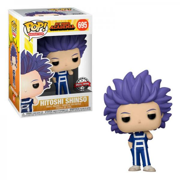 FUNKO POP MY HERO ACADEMIA HITOSHI SHINSO EXCLUSIVO