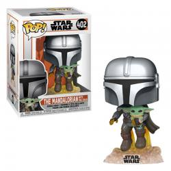FUNKO POP THE MANDALORIAN CON CHILD JET PACK