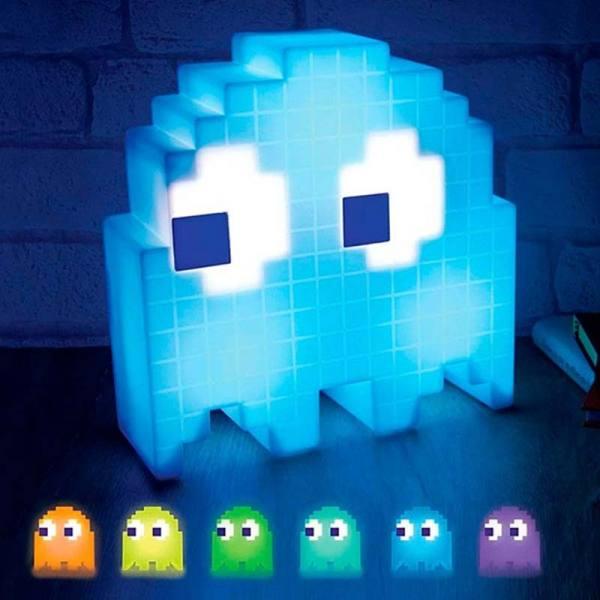 Lámpara Pac-Man Fantasma