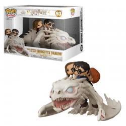FUNKO POP HARRY POTTER DRAGON HARRY,HERMIONE Y RON