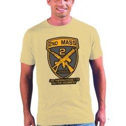 Camiseta Falling Skies compañia Segunda Mass color arena