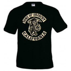 Camiseta Sons Of Anarchy California - Unisex
