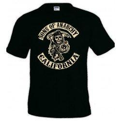 Camiseta Sons Of Anarchy California - Unisex