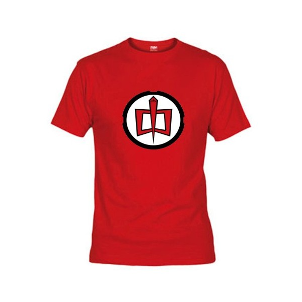 Camiseta Sheldon Cooper Gran Heroe Americano (logo clásico)