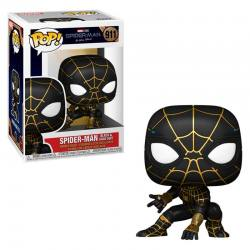 SPIDERMAN NO WAY HOME FUNKO POP BLACK/GOLD SUIT