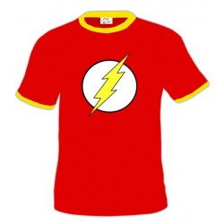 Camiseta con logo de the Flash (Clásico)