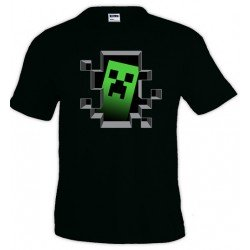 Camiseta un Creeper dentro de mi - Minecraft