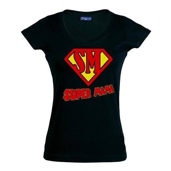 Camiseta día de la Madre - Super Mama
