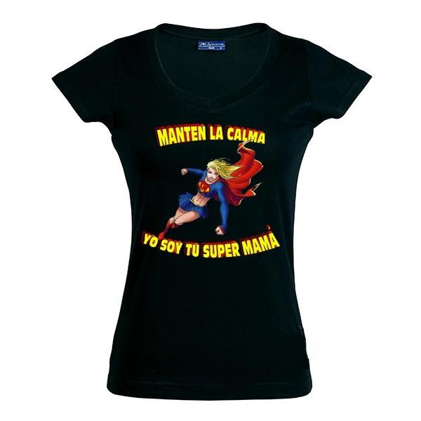 Camiseta Día de la Madre - manten la calma