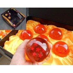 7 Bolas de Dragon Ball Z de 7,8 cms