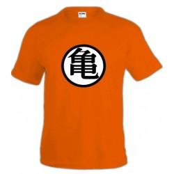 Camiseta Dragon Ball Z - simbolo Kame