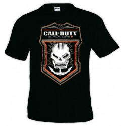 Camiseta Call Of Duty Black Ops II - Prestigio Skull