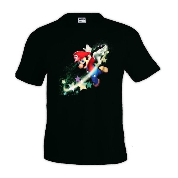 Camiseta Super Mario Stars