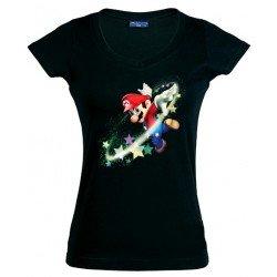 Camiseta Super Mario Stars para Chica