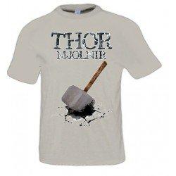 Camiseta Thor con diseño Martillo thor Mjolnir