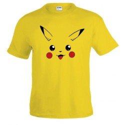 Camiseta Pokemon - Pikachu de cara custom