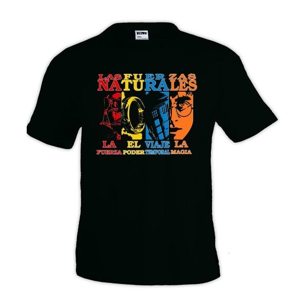 Camiseta - 4 fuerza naturales