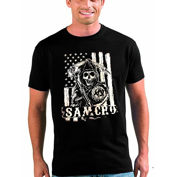 Camiseta Sons Of Anarchy Samcro