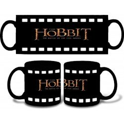 Taza Hobbit La Batalla de los 5 Ejércitos logo