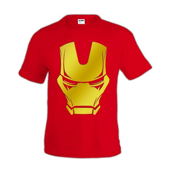 Camiseta Ironman Face