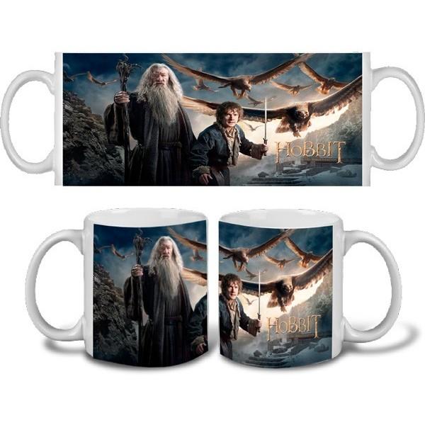 Taza Hobbit Batalla 5 Ejércitos - Gandalf