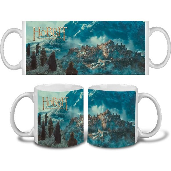 Taza de Hobbit Desolación Smaug - Montaña Solitaria