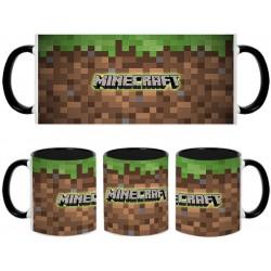 Taza Minecraft bloque tierra