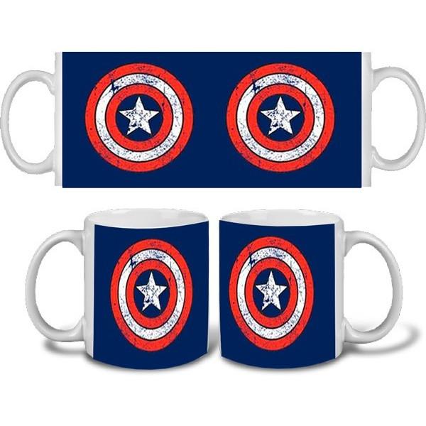 Taza Capitán América Escudo