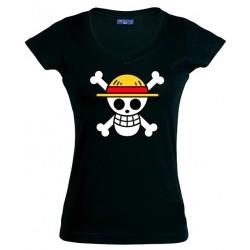 Camiseta One Piece Bandera Luffy
