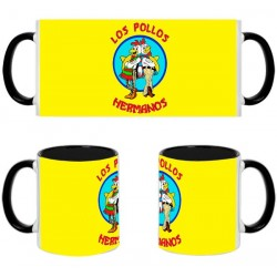 Taza Breaking Bad Pollos Hermanos