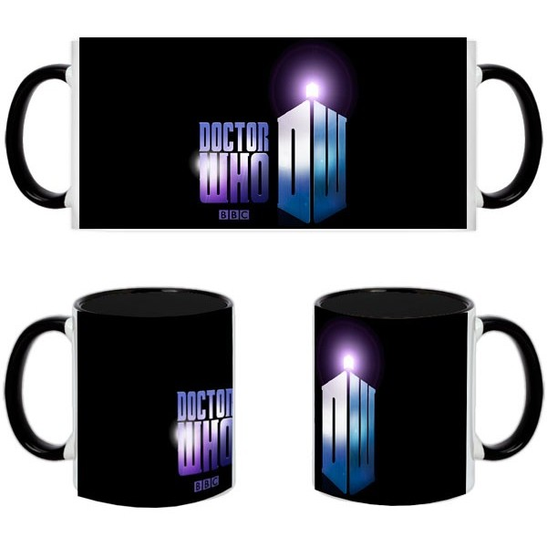 Taza Doctor Who Logo