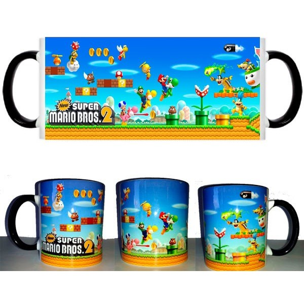 Taza Super Mario Bros 2
