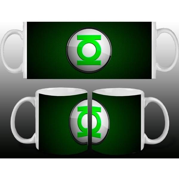 Taza Linterna Verde Logo