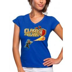 Camiseta Clash of Clans - mago - de mujer