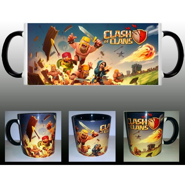Taza Clash of Clans Batalla