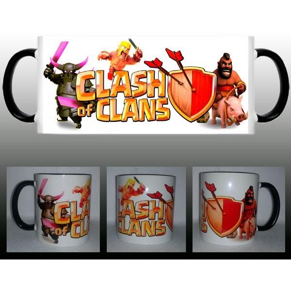 Taza Clash of Clans Logo