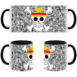 Taza One Piece Calavera Luffy