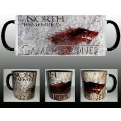 Taza Juego de Tronos Stark The North Remembers
