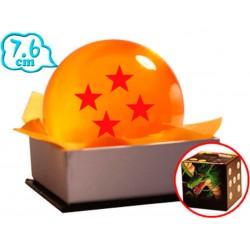 Bola de Dragón 4 Estrellas Dragón Ball 7'6 Cm
