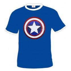 Camiseta Capitan América -Escudo custom