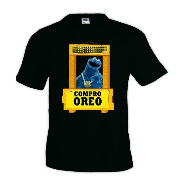 Camiseta Monstruo De La Galletas - Compro Oreo