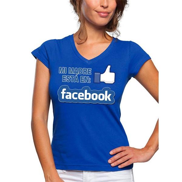 Camiseta dia de la madre facebook