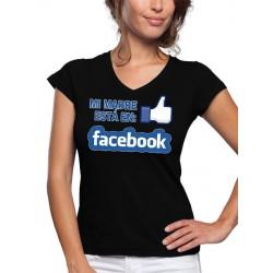 Camiseta día de la madre Facebook