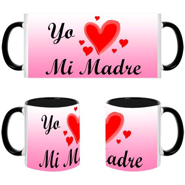 Taza Día de la Madre-Amo a mi madre
