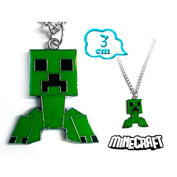 Colgante Minecraft Creeper