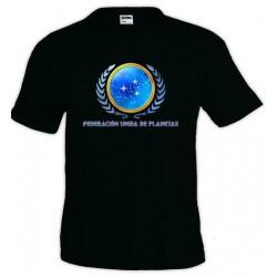 Camiseta Star Trek - Federación unida de planetas