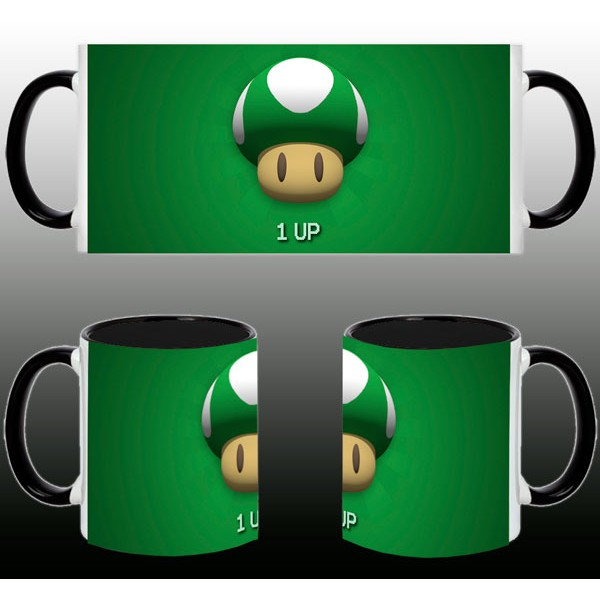 Taza Mario Bros Toad Verde