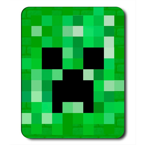 Alfombrilla de Pc Creeper Minecraft