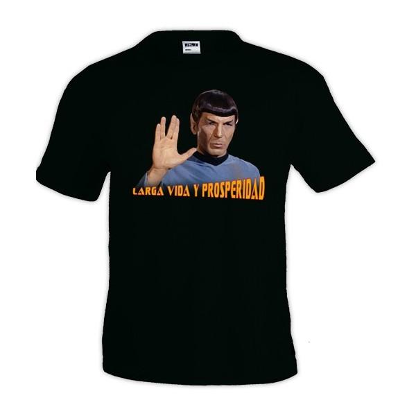 Camiseta Star Trek - Spok larga vida