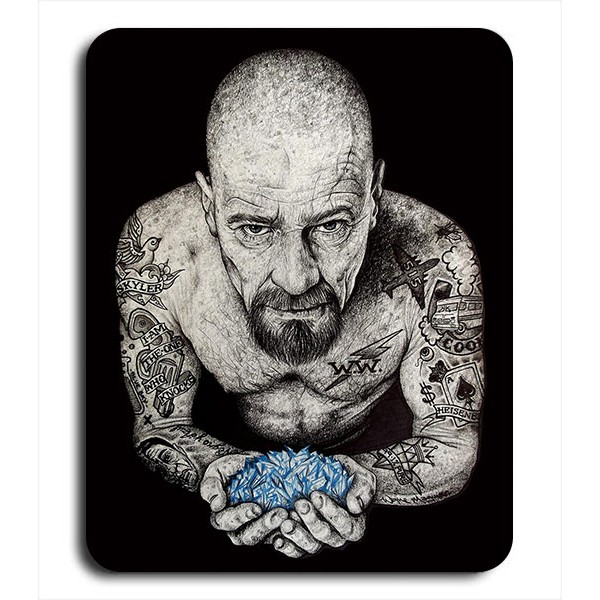 Alfombrilla de Ratón Heisenberg Tattoo Breaking Bad